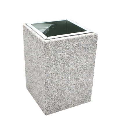 Kosze betonowe - obrazek