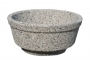 Donica betonowa MISA 45×20cm - szary otoczak - obrazek