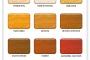Dostępne kolory siedziska drewnianego