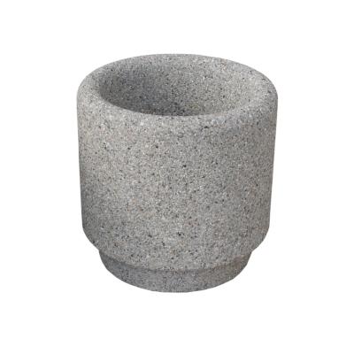 Donica betonowa średnica 50 x 50 - obrazek