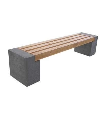 Ławki betonowe - obrazek