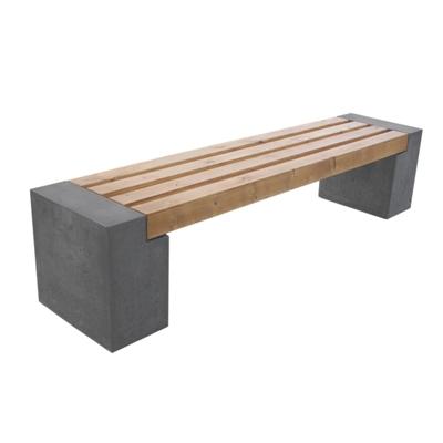 "Ławka betonowa ""Qube"" - obrazek"