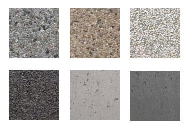 Ławki betonowe - kolory betonu
