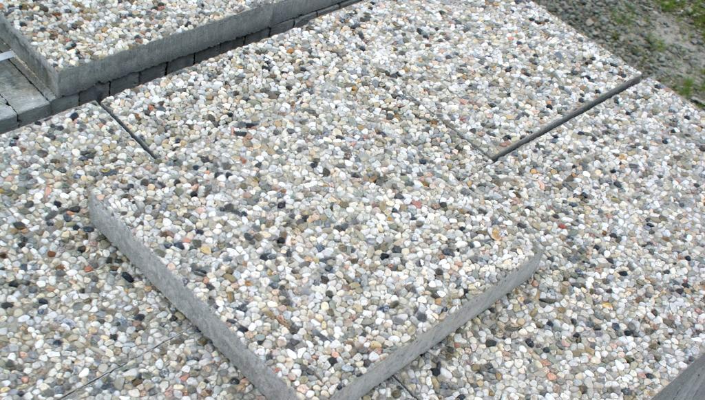 Płyty brukowe z betonu - obrazek