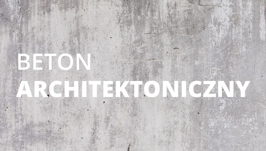 Beton architektoniczny - obrazek